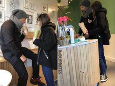 "276 Me gusta, 1 comentarios - Jamie, Millie & Dakota Uptades (@jmdupdates) en Instagram: ""AWWW!! New pics of Dakota and Chris at Heirloom Juice Co in Vancouver on Sunday (Feb. 18th, 2018)…"""