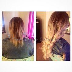 Mermaid European Ombré Hair Extensions ! #HairExtensions #MermaidHairExtensions Mermaid Hair Extensions, Long Hair Styles, Beauty, Long Hairstyle, Long Haircuts, Long Hair Cuts, Beauty Illustration, Long Hairstyles, Long Hair Dos