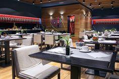 Hotel Silken Gran Teatro Burgos - Restaurante La Tramoya, está situado en la planta baja del hotel. En el podrá disfrutar de un apetitoso menú ejecutivo propio de los paladares más exigentes. Si lo prueba volverá. http://www.hoteles-silken.com/hoteles/gran-teatro-burgos/restaurantes/