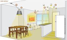 Como fazer uma boa iluminação em ambientes com e sem forro de gesso casa.abril.com.br