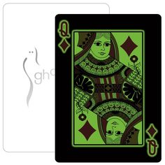 Glow In The Dark Playing Cards Custom Printed Playing Cards, Poker Night, Promotional Giveaways, Foil Stamping, Custom Logos, Brand Names, The Darkest, Glow, Stampin Up