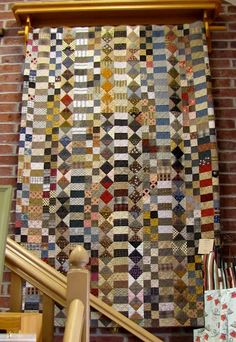 good one to use scraps - via corn wagon quilt shop