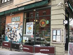 Vaselka~~Ukranian restaurant.