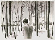Illustrations by Ryan Salge | http://ineedaguide.blogspot.com/2015/03/ryan-salge.html #drawings #illustrations