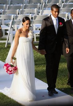 Cory Hardrict and Tia Mowry at Their Wedding 2008