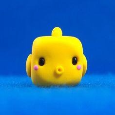 Kawaii Goldfish Cube by Jenn and Tony Bot, via Flickr