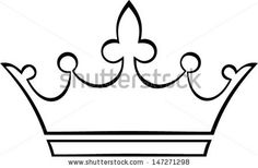 Simple Crown Outline   Clipart Panda - Free Clipart Images