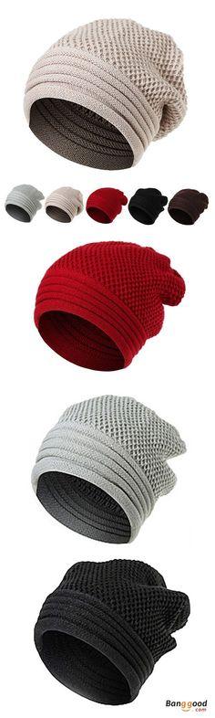 Paris Soundwave Beanie Skull Cap for Women and Men Winter Warm Knit Hat