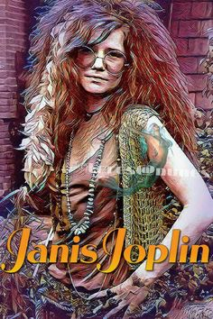 Janis Joplin The fierce Janis Joplin succumbed on Oct. to an accidental heroin overdose after a long struggle with substance abuse. Janis Joplin, Music Icon, Art Music, Music Artists, Rock N Roll Music, Rock And Roll, Hard Rock, Rock Band Posters, Digital Foto