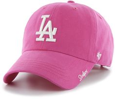 Los Angeles Dodgers 47 Brand Pink Miata Clean Up Adjustable Hat Low Prices & Quick Shipping at Detroit Game Gear