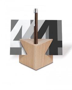Schreibtisch-Accessoire Cube tower, Buche natur 0