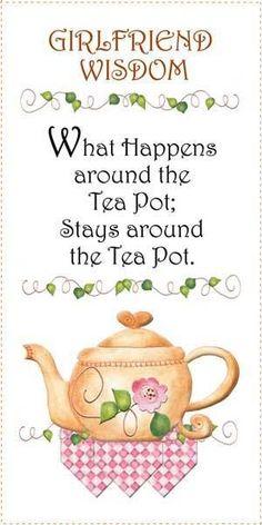 Lavender Cottage: Tea on Thursday - The Wisteria Tea Room