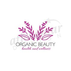 organic beauty -  Custom Premade Logo