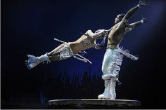 Cirque du Soleil: TOTEM roller skates.... 2nd favorite act~ they exude passion!