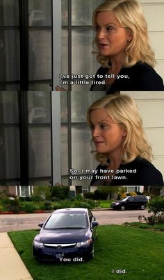 Amy Poehler as Leslie Knope Parks And Rec Memes, Parks And Recs, Parks And Recreation, Best Tv Shows, Best Shows Ever, Favorite Tv Shows, Movies And Tv Shows, Tv Funny, Hilarious