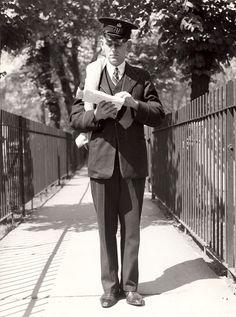 London postman from 1938.