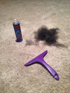 Static guard + squeegee = getting stubborn pet hair out of thick carpets and furniture!!! Works great. Amazed at how much it got up