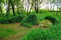 I sleep in the Lost Gardens of Heligan  dead to man and fear  Until waked by family Tremayne again  Ready to walk, my dear?