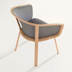 Nest Side Chair Wood Legs II, $1,652,  by Todd Bracher !!