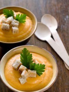poivre, courge, lait de coco, mimolette, oignon, cube de bouillon, cumin en poudre, eau, sel, carotte