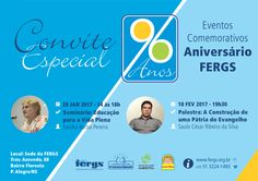 FERGS convida para evento comemorativo de seu aniversário - http://www.agendaespiritabrasil.com.br/2017/01/15/fergs-convida-para-evento-comemorativo-de-seu-aniversario/