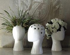 Fancy - Wig Vase by Tania da Cruz