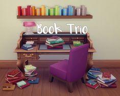 Sul Sul — hamburgercakes: Book Trio I love book clutter. I...