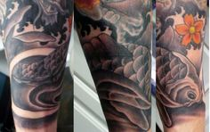 japanese koi tattoo - Google Search