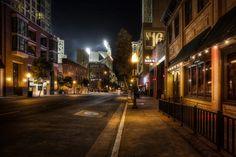 Night City Street Wallpaper High Quality Resolution - Kemecer.com