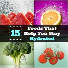 Stay hydrated this summer with these 15 foods high in water content. | Health.com
