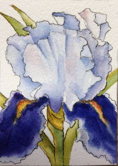 A personal favorite from my Etsy shop https://www.etsy.com/listing/233269273/beautiful-iris-watercolor-art-card