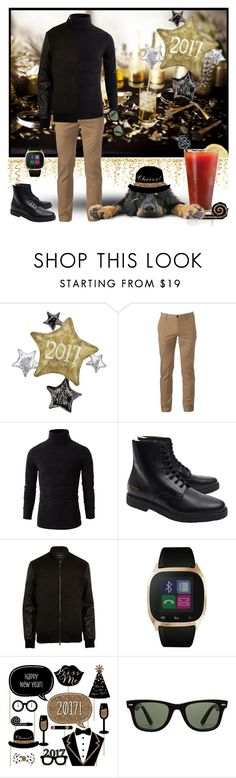 """""""The Hair of the Dog!"""" by krusie ❤ liked on Polyvore featuring Urban Pipeline, Common Projects, River Island, iTouch and Ray-Ban"""