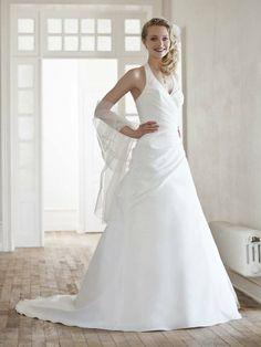 Donna-Vestido de Noiva em tafetá - dresseshop.pt