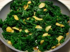 "... Sauteed kale with smoked paprika"", this is currently my new favorite"