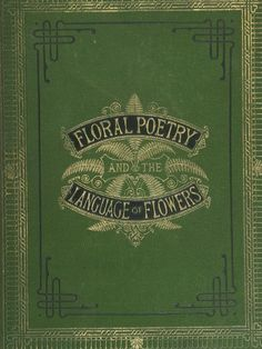 Floral poetry and the language of flowers