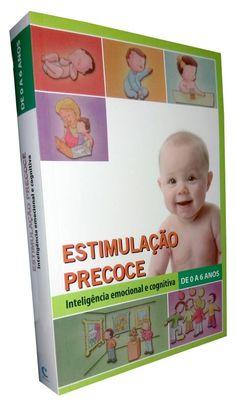 Livro Estimulação Precoce Inteligência Emocional e Cognitiva - ISBN 9788589990349