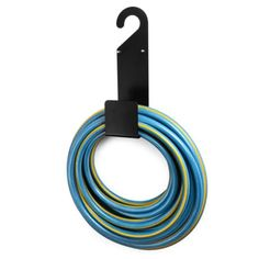 Yard Wall Mount Hose Holder Rust-Free Durable Heavy Duty Plastic Hose Hook Hanger for Water Hose Great for Garden Random Color Lawn Garden Hose Hanger