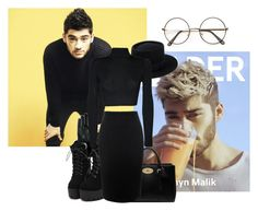 """""""Cinema With Zayn Malik"""" by bad-black on Polyvore featuring beauty, Mulberry, Ted Baker, Alexander McQueen and WearAll"""