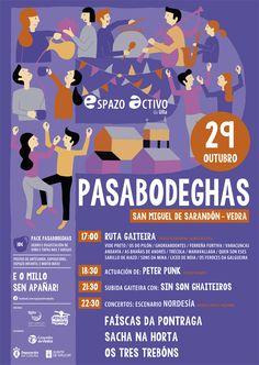 Aldeas e vilas galegas, plataforma dixital de interese - 29 - 30 de Outubro. O Pasabodegas, na Vedra