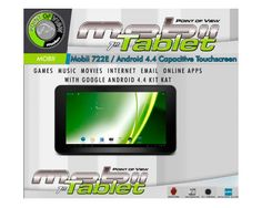 TABLET POINT OF VIEW 7 A7 512MB 8GB 2 CAM A 4.4 :: APPInformatica.com ::