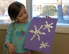 Tinfoil Snowflakes