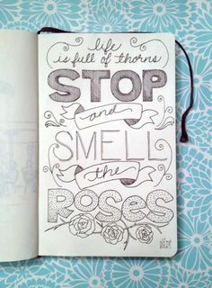 hand lettering | Tumblr