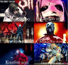 The faces of number 8, Corey Taylor XD