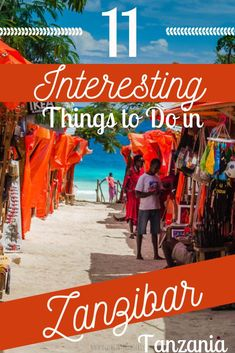 11 Things to do in Zanzibar Tanzania Africa - Zanzibar is just about as tropical as it gets, with be Adventure Tours, Adventure Travel, Koh Lanta Thailand, Places To Travel, Travel Destinations, Zanzibar Beaches, Ultimate Travel, Africa Travel, Plan Your Trip