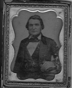 Rev, Stephen J. Davies, Methodist minister and plantation owner, 1850's