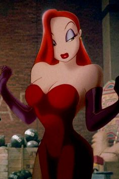 Jessica Rabbit from 'Who Framed Roger Rabbit'