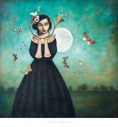 Evening Echoes Art Print by Duy Huynh at Art.com