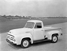 Classic Ford Trucks white