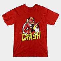 THE CRASH T-Shirt - Crash Bandicoot T-Shirt is $14 today at TeePublic!