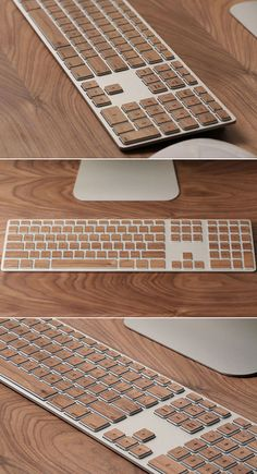 Pimp Your Apple Keyboard With Real Wood